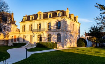 Chateau private house at Chais Monnet Cognac