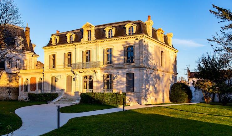 Chateau private house at Chais Monnet Cognac