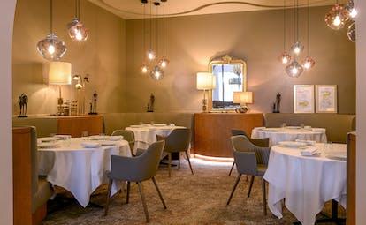 Les Foudres fine dining restaurant at Chais Monnet