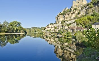 Village of Beynac-et-Cazenac on the River Dordogne