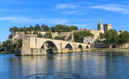 Avignon bridge of Saint Benezet in Provence