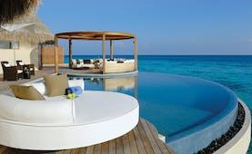W Retreat Maldives ocean haven pool infinity pool overlooking sea private terrace