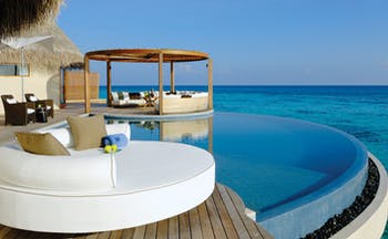 W Retreat Maldives ocean haven pool infinity pool overlooking sea private terrace