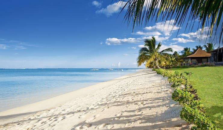 Lux Le Morne Mauritius beach white sands clear blue ocean