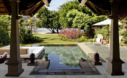 Exclusive suite illa with plunge pool and gardens