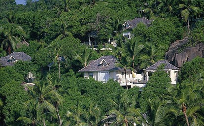 Banyan Tree Seychelles mountain villas in the forest