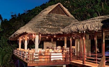 Constance Lemuria Seychelles legend restaurant dining terrace