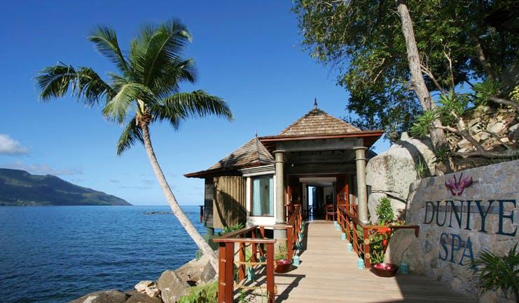 Hilton Northolme Seychelles Duniye spa exterior pavilion jetty sea view
