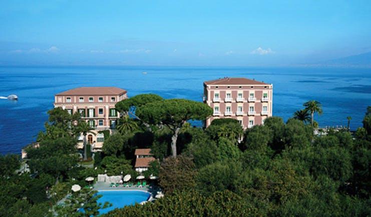 Grand Hotel Excelsior Vittoria Amalfi Coast hotel pool sea