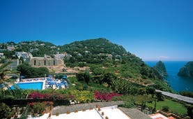 Hotel Luna Capri hotel exterior pool gardens coastline views sea