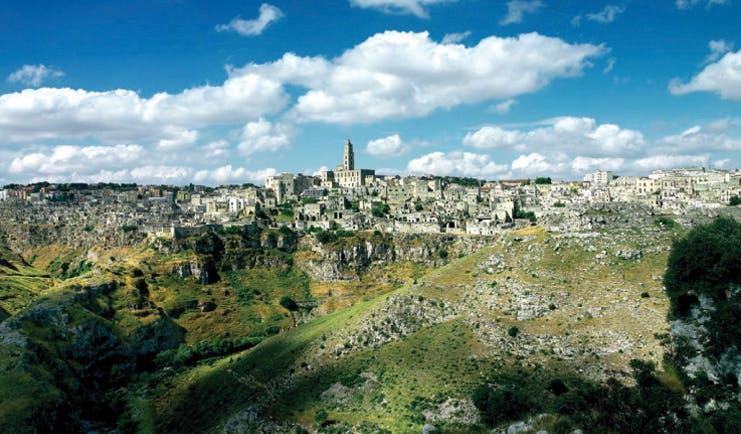 Sextantio Le Grotte Della Civita Basilicata view of Matera