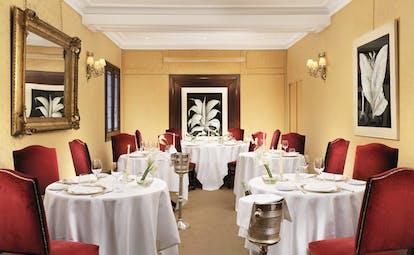 Helvetia and Bristol Florence Hostaria Bibendum restaurant indoor dining