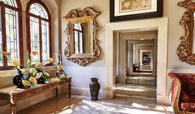 San Clemente Palace Venice lobby marble floors ornate décor