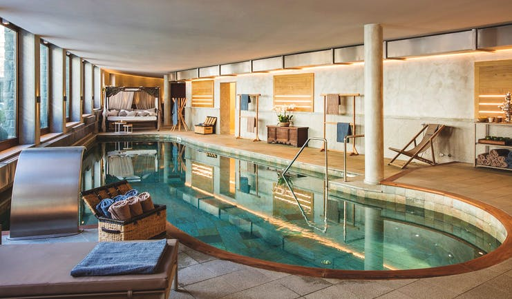 Hotel Hermitage Italy Alps indoor pool