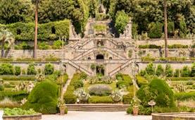 Villa Garzoni baroque terraced gardens