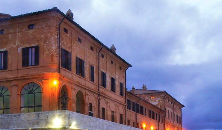 La Posta Vecchia Latium building traditional architectural features