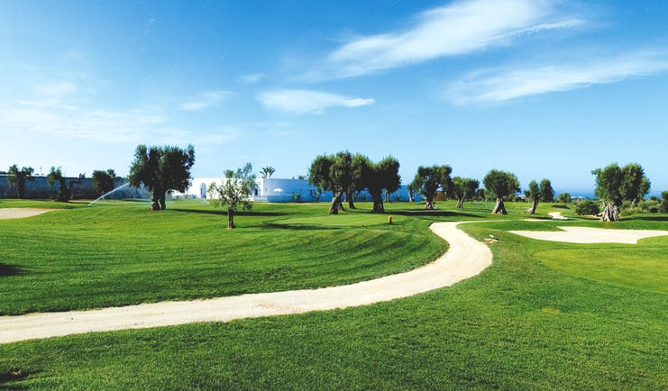 Masseria Torre Maizza Puglia golf course lawns trees golf course