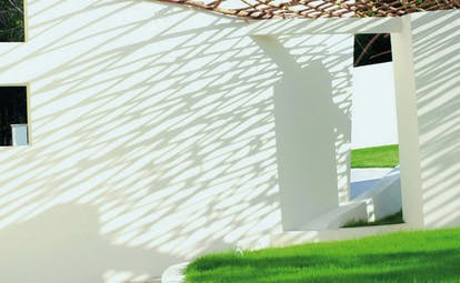 Hotel La Coluccia Sardinia hotel wall modern architecture