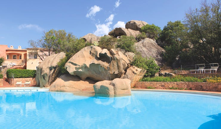 La Rocca Sardinia pool rock feature