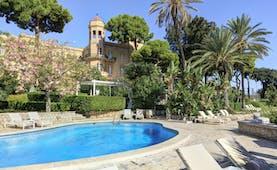Villa Igeia Palermo hotel by the sea