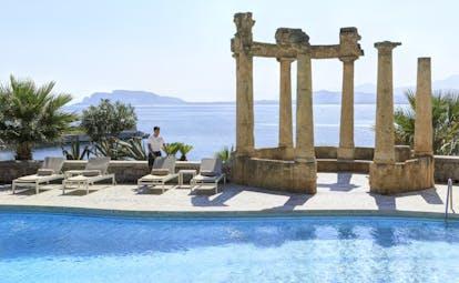 Villa Igeia Palermo hotel by the sea pool