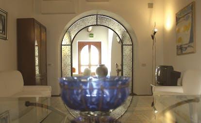 Villa Meligunis Sicily indoor lounge sofas modern décor
