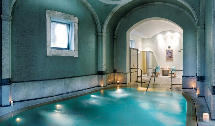 Bagni Di Pisa Tuscany thermal pool indoor pool and spa area