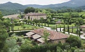 Borgo Santo Pietro Tuscany exterior hotel building rural surrounds