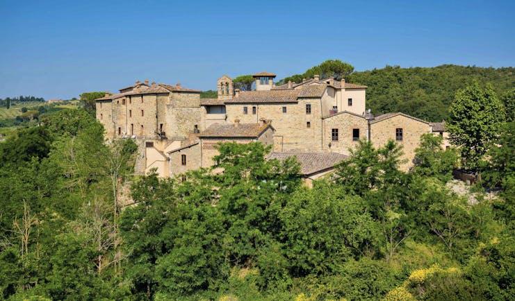 Castel Monastero Tuscany hotel exterior