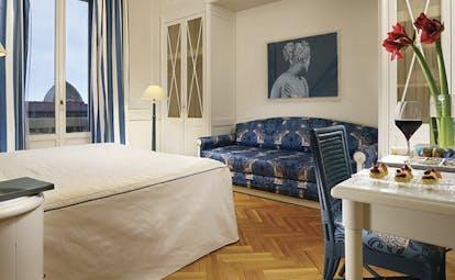 Principe di Piemonte Tuscany deluxe bedroom modern décor