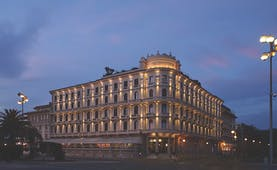 Principe di Piemonte Tuscany exterior hotel building corner of street