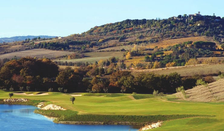 Terme di Saturnia Tuscany golf course countryside