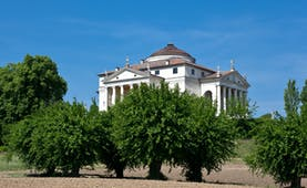 Palladian classical villa with round rooftop called La Rotonda near Vicenza