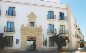 Duque de Najera Andalucia entrance exterior hotel building door windows