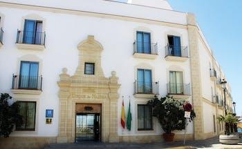 Duque de Najera Andalucia entrance exterior hotel building door windows