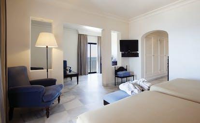 Duque de Najera Andalucia junior suite bedroom living area modern décor