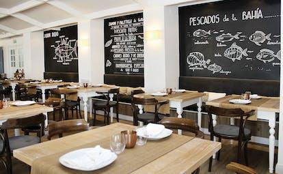 Duque de Najera Andalucia restaurant modern décor