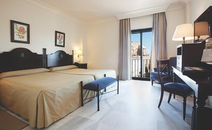 Duque de Najera Andalucia standard double beds desk traditional décor
