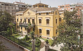 Palacio de los Patos Granada hotel exterior building drive way trees