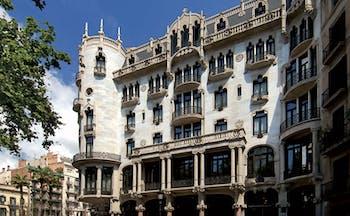 Hotel Casa Fuster Barcelona exterior ornate architecture