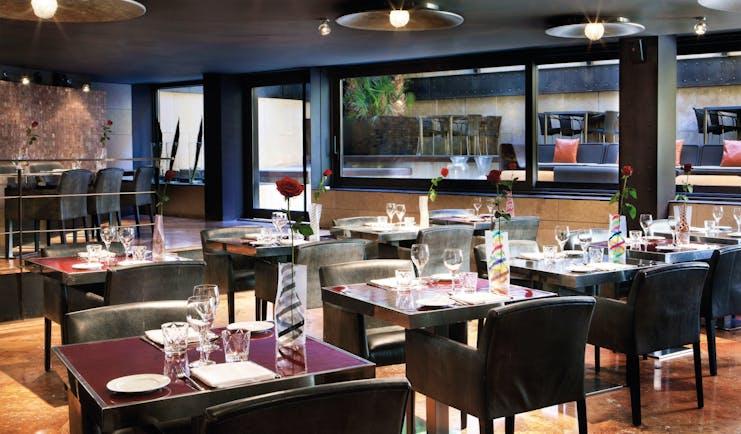Hotel Granados 83 Barcelona restaurant indoor dining chic modern decor
