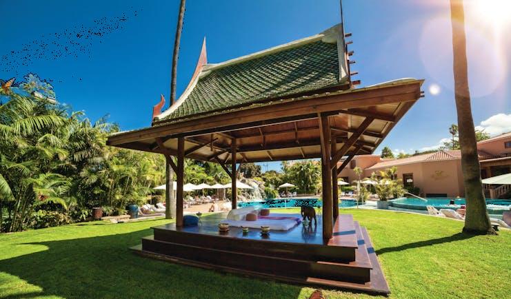 Hotel Botanico Tenerife pagoda oriental spa garden