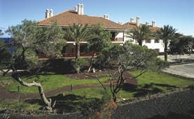 Parador de el Hierro Canary Islands hotel building lawns trees