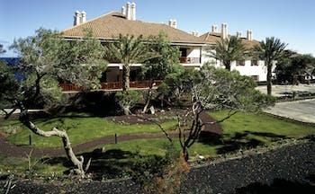 Parador de el Hierro Canary Islands hotel building lawns trees