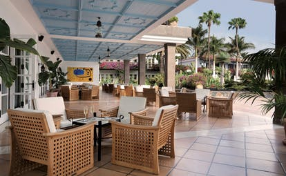 Seaside Grand Hotel Residencia Canary Islands terrace outdoor seating area