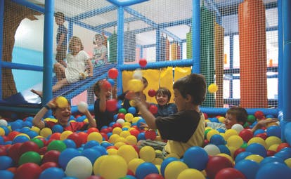 Sheraton Fuerteventura Canary Islands ball pit children playing
