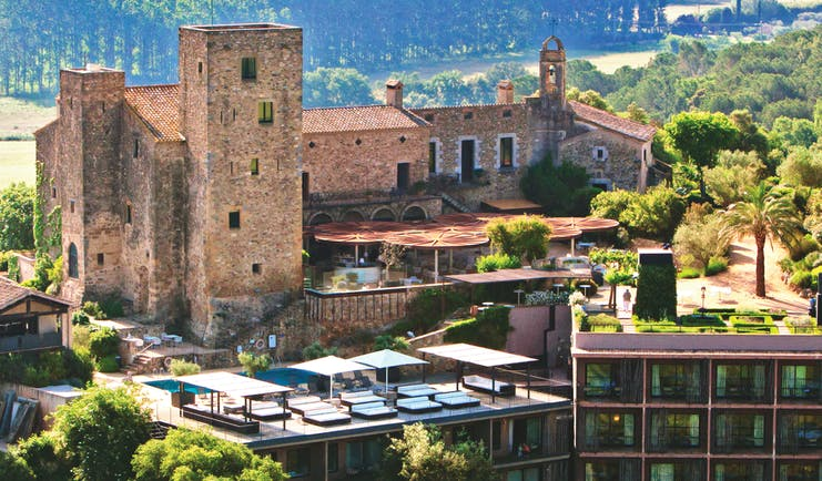Castell D'Emporda Eastern Spain exterior original architecture modern architecture