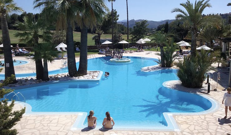 Denia Marriot La Sella Eastern Spain pool palm trees poolside