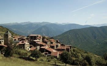 Hotel el Castell de Ciutat Catalonia mountains countryside