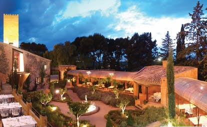 Hotel Mas la Boella Eastern Spain exterior courtyard gardens dining terraces